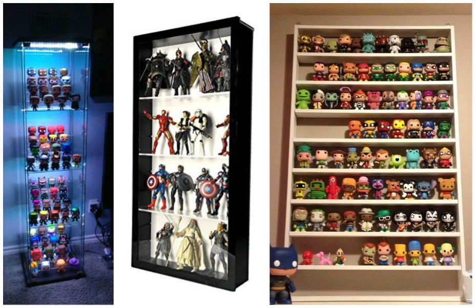 action figures shelf