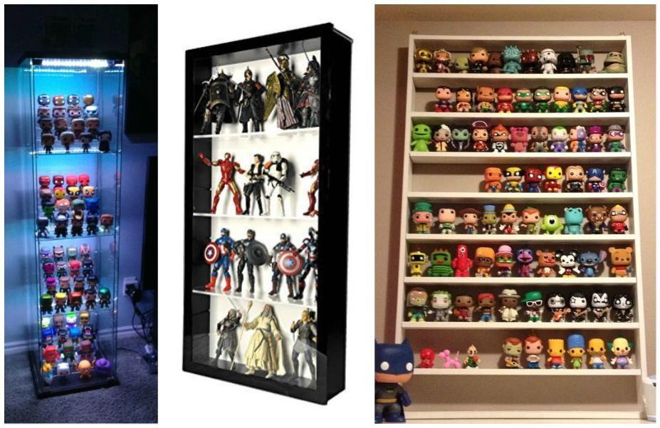 action figures shelf